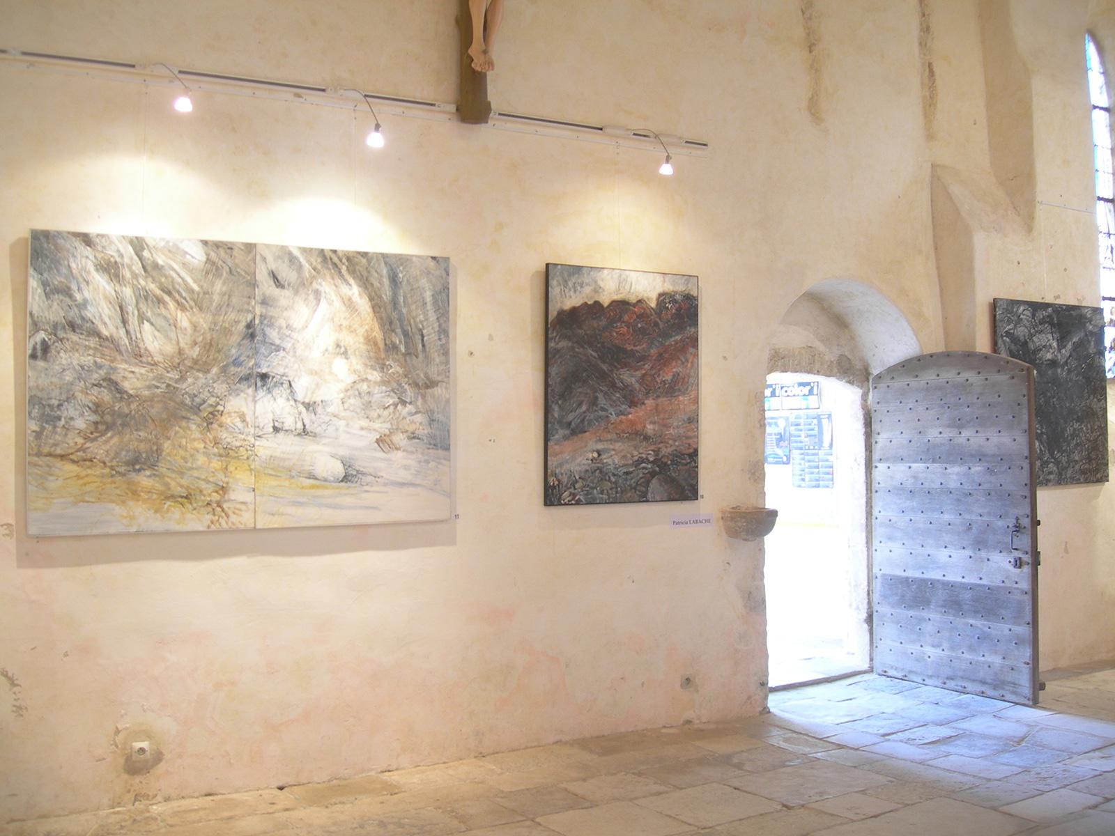 """Exposition """"Failles"""" – Eglise de Portbail (Manche)"""